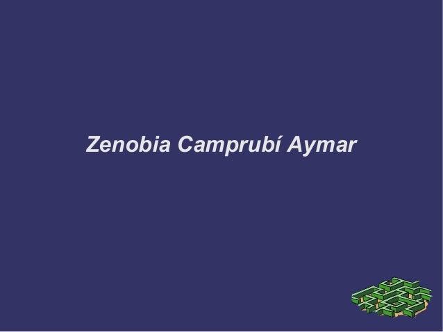 Zenobia Camprubí Aymar