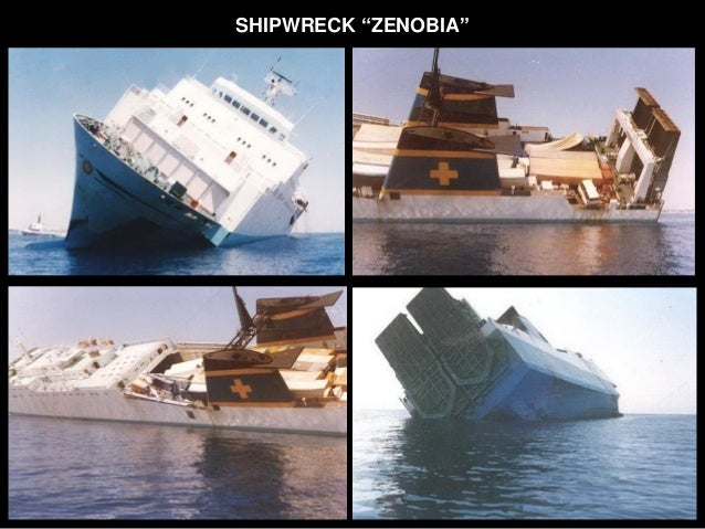 Ecology of the Zenobia Shipwreck and Marine Research Slide 3