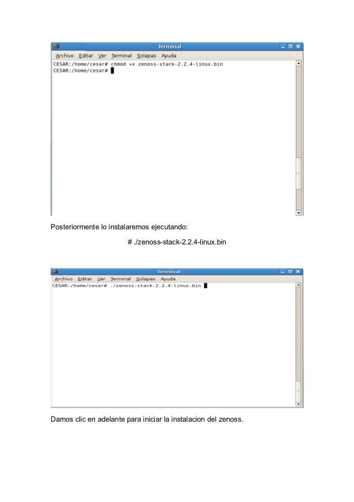 Zenoss Manual