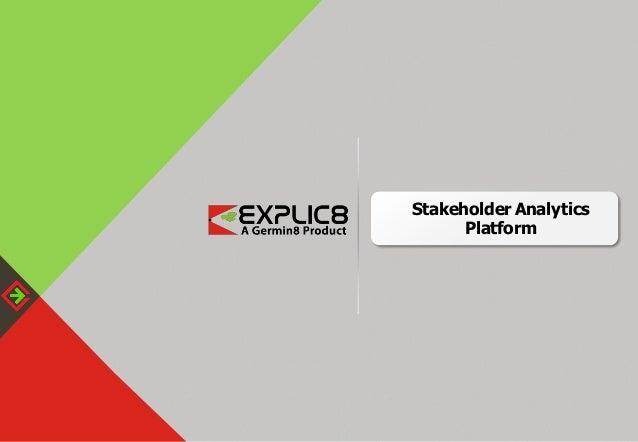 Stakeholder Analytics Platform