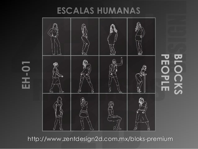 BLOCKS PEOPLE  EH-01  ESCALAS HUMANAS  http://www.zentdesign2d.com.mx/bloks-premium