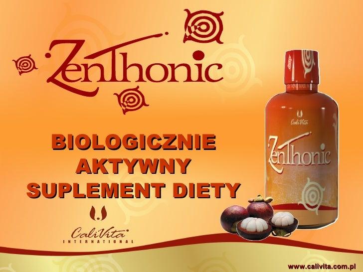 BIOLOGICZNIE     AKTYWNY SUPLEMENT DIETY                     www.calivita.com.pl