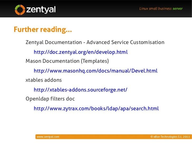 Zentyal customization templates hooks ldap linux maxwellsz