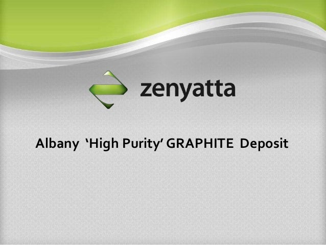 Albany 'High Purity' GRAPHITE Deposit