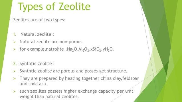 zeolite process Process Flow Ideas