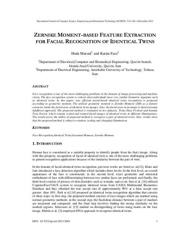 International Journal of Computer Science, Engineering and Information Technology (IJCSEIT), Vol.3,No. 6,December 2013  ZE...