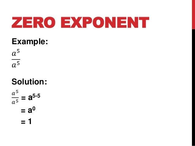Mathematics 9 Lesson 5: Zero and Negative Exponents