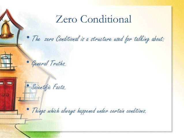 Zero Conditional Presentation