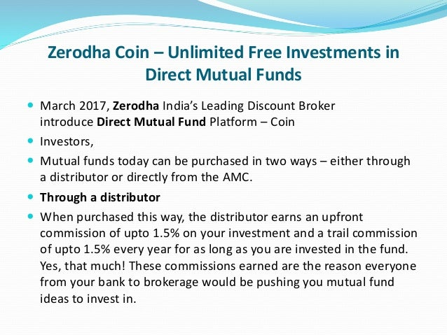 Zerodha Coin Charges | Zerodha Coin Review – Investallign