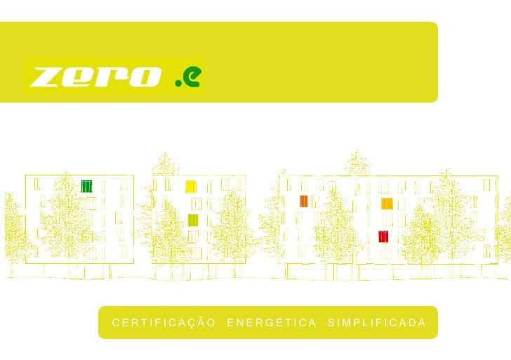 CERTIFICAÇÃO ENERGÉTICA SIMPLIFICADA