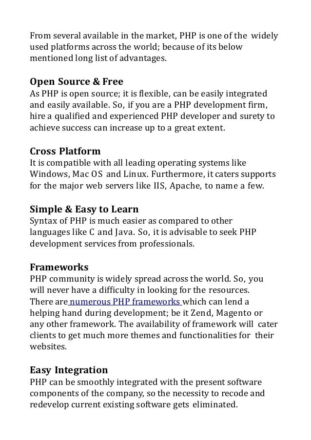 Zeroing on an Offshore PHP Development Firm: Things to Remember Slide 2
