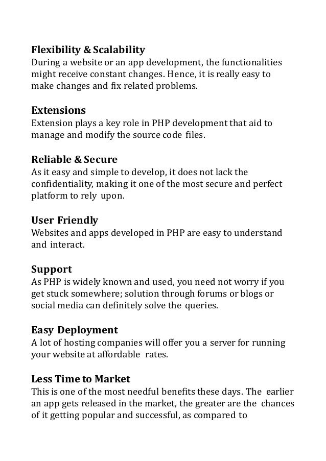 Zeroing on an Offshore PHP Development Firm: Things to Remember Slide 3