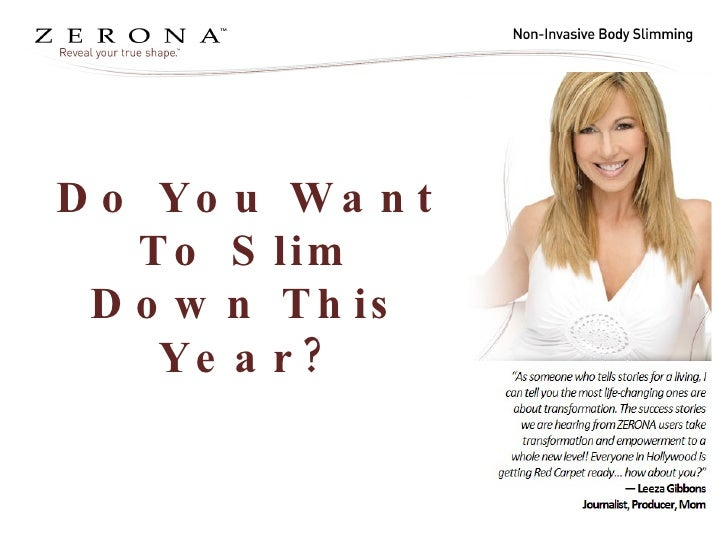 Do You Want To Slim Down This Year?