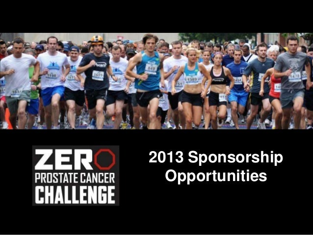 2013 Sponsorship  Opportunities