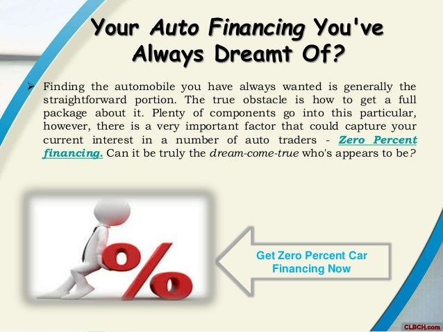 Zero Percent Car Loans Deals