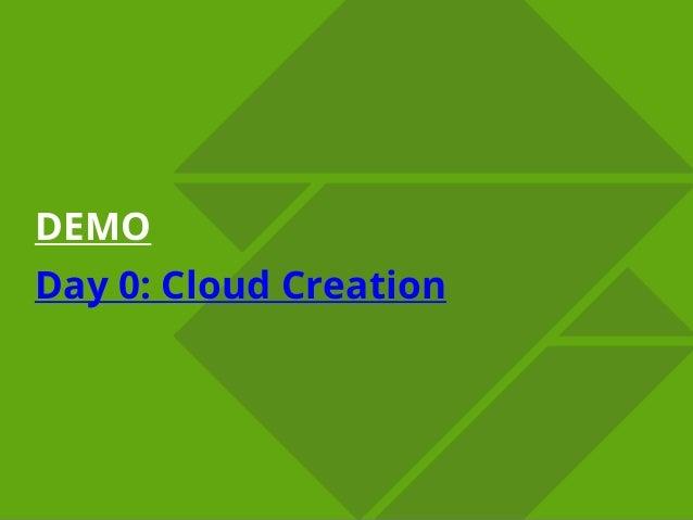 © ZeroStack Inc. | zerostack.com© ZeroStack Inc. | zerostack.com DEMO Day 0: Cloud Creation