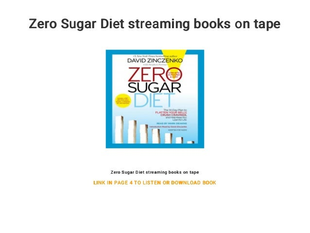 zero sugar diet book