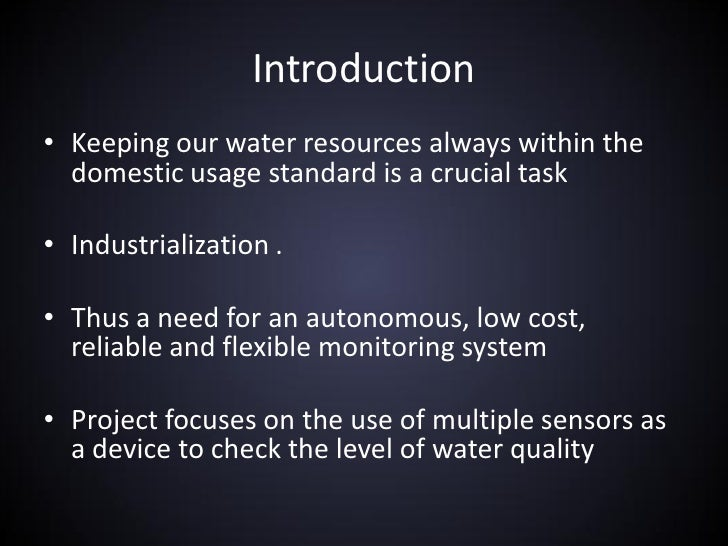 Remowz Realtime Water Quality Monitoring Using Zigbee