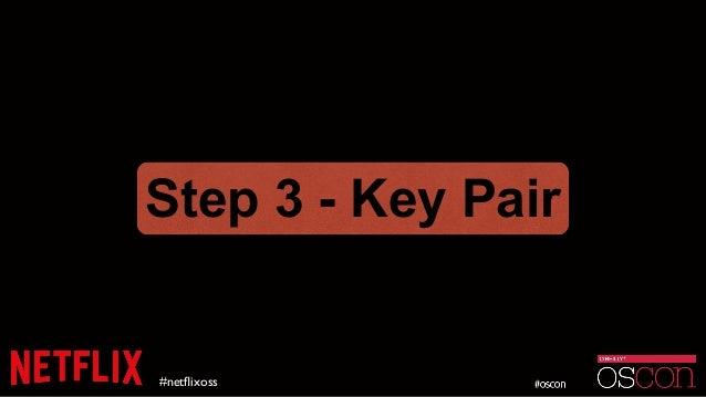 #netflixoss Step 3 - Key Pair
