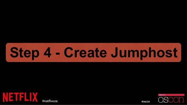 #netflixoss Step 4 - Create Jumphost