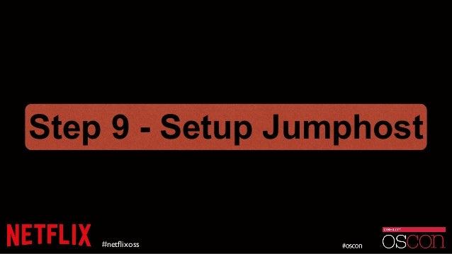 #netflixoss Step 9 - Setup Jumphost