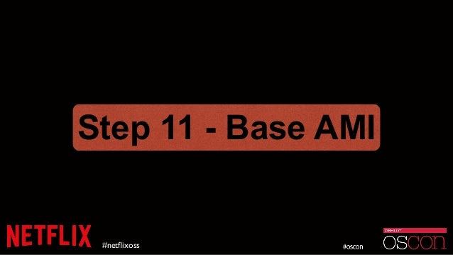 #netflixoss Step 11 - Base AMI