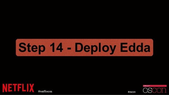 #netflixoss Step 14 - Deploy Edda