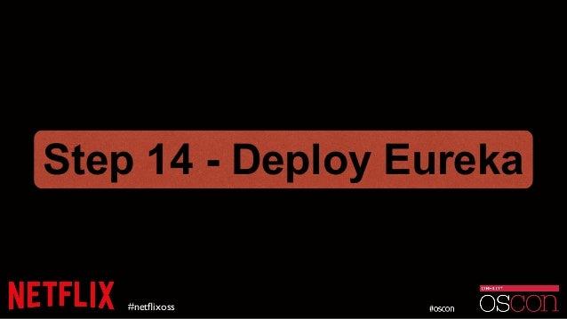 #netflixoss Step 14 - Deploy Eureka