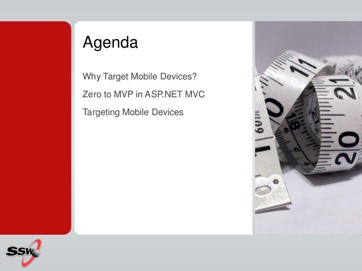 Building Mobile Websites with ASP.NET MVC 3 & 4 Slide 2