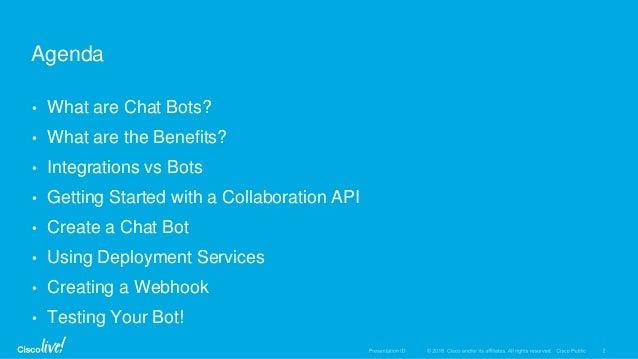 Chatbots Workshop SF JS Meetup May 2018 Slide 2