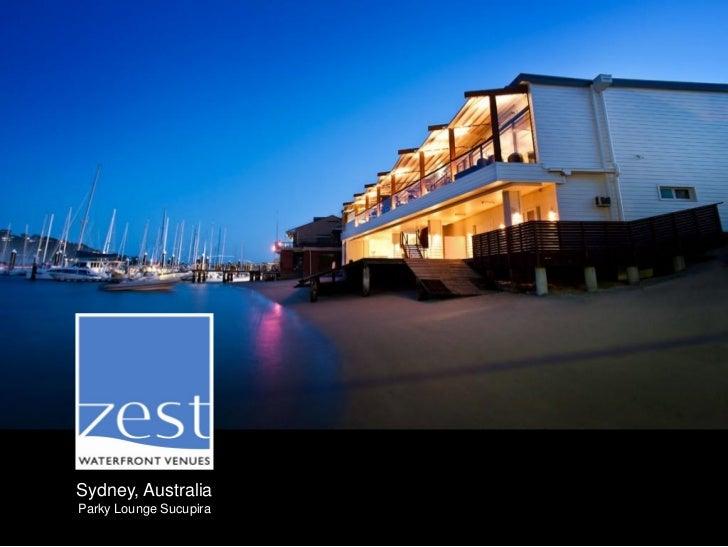 Sydney, AustraliaParky Lounge Sucupira