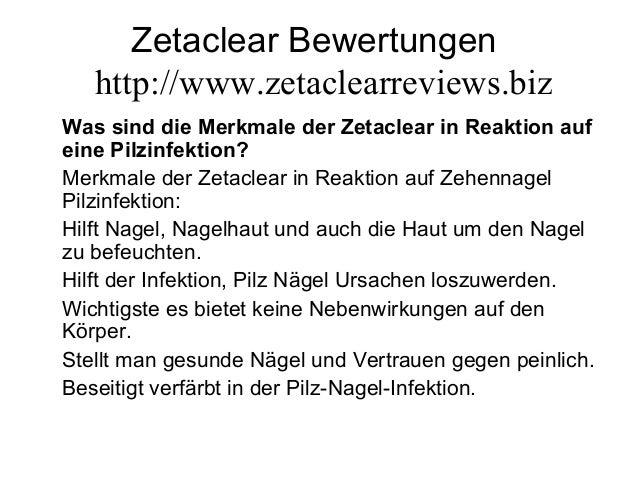 Zetaclear Bewertungen http://www.zetaclearreviews.biz Was sind die Merkmale der Zetaclear in Reaktion auf eine Pilzinfekti...