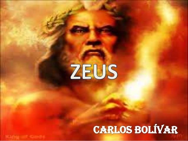 Era el diosEn la mitología           Era el Rey de los                                              del cielo ygriega Zeus...