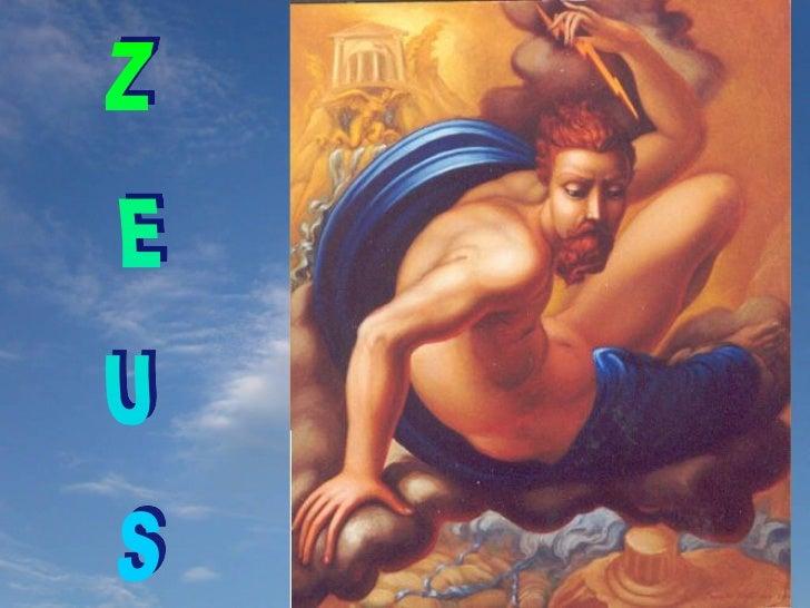 Zeus era fill de Cronos i Rea.  Cronos, temorós de ser destronat per un dels seus  fills, els devorava quan neixien, fins ...