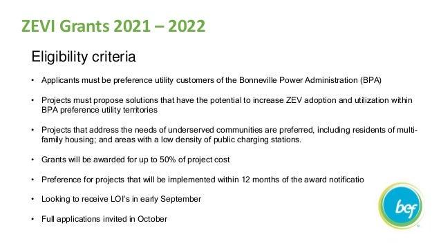 Zero Emission Vehicle Innovation Grant Announcement by Tomas Endicott Slide 2
