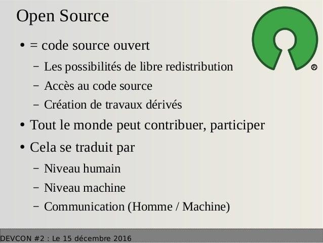 L 39 open source dans les nouvelles architectures web Cao open source