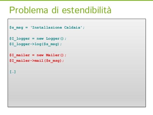 Event ManagerClass IdraulicoFactory {    createService(ServiceLocatorInterface $serviceLocator) {    $idraulico = new Idra...