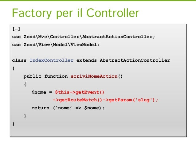 init()<?phpclass IdraulicoController extends Zend_Controller_Action {    public function init () {        $this->view->azi...