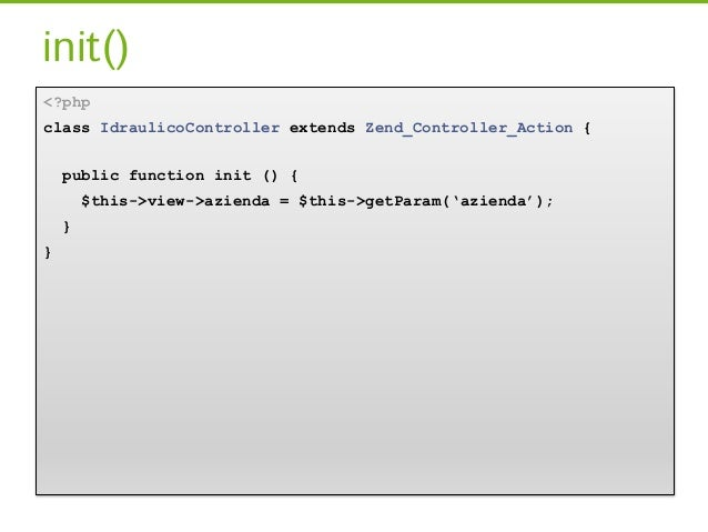 Sulla Dependency Injection…[…]// Sul costruttorepublic function __construct($dipendenza) {      $this->dipendenza = $dipen...