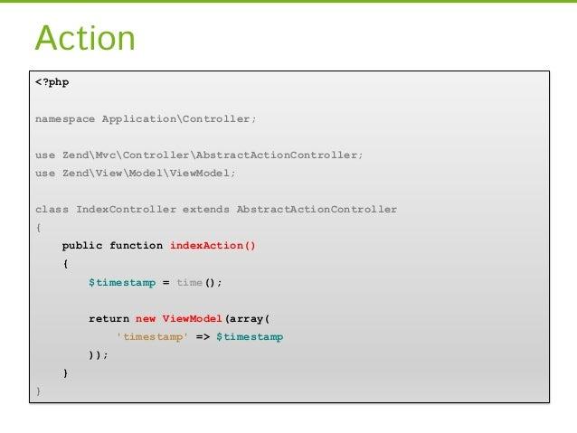 Controller ZF1[…]class IdraulicoController extends Zend_Controller_Action {public function installaCaldaia () {      $oper...