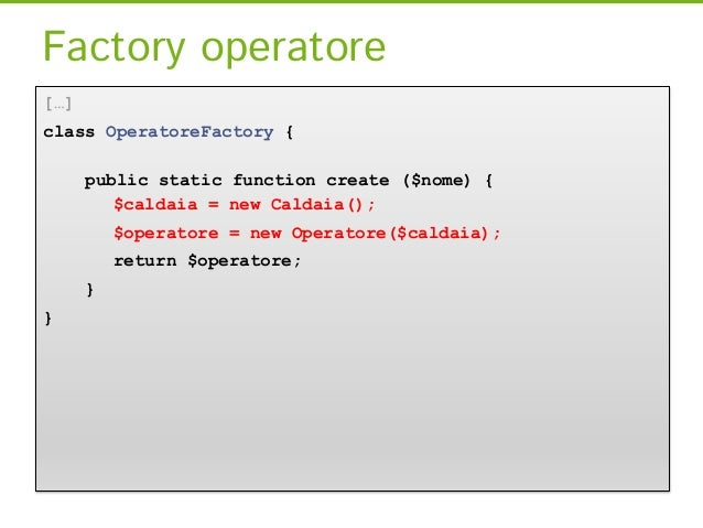 ZF2 - Il Service Manager[…]class IdraulicoController extends AbstractActionController {public function installaCaldaia () ...