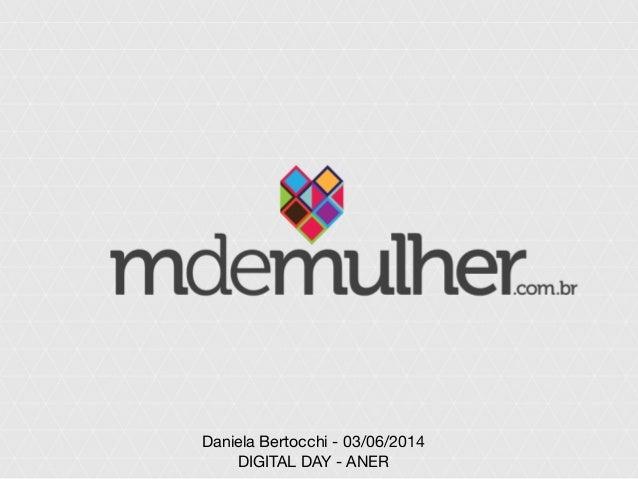 Daniela Bertocchi - 03/06/2014 DIGITAL DAY - ANER