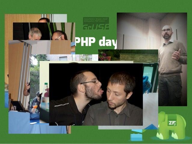 PHP day CFP28 febbraio 2013