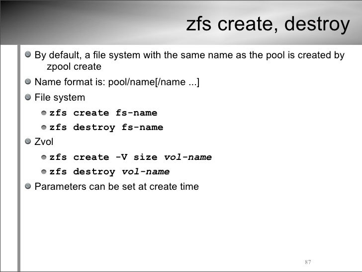 ZFS write (High IO and High Delay)