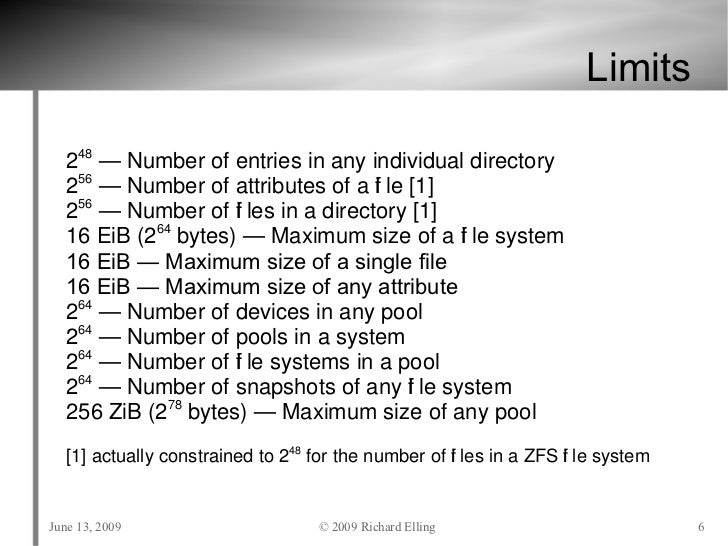 Zfs tutorial usenix june 2009 for Zfs pool design