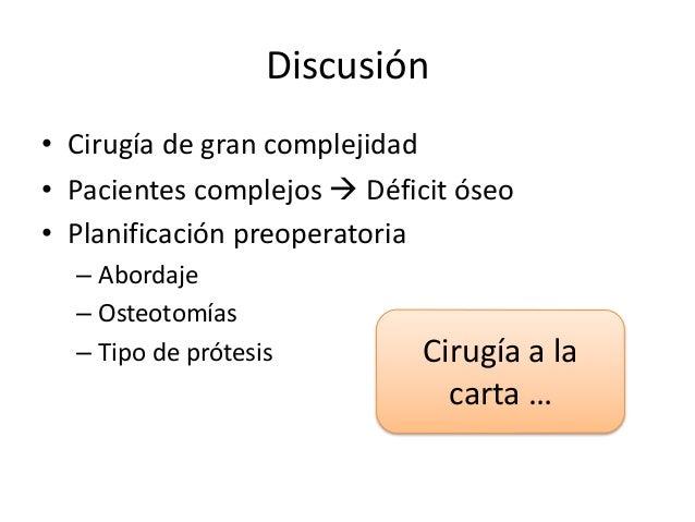 Cirugía de Recambio Protésico: Vastago