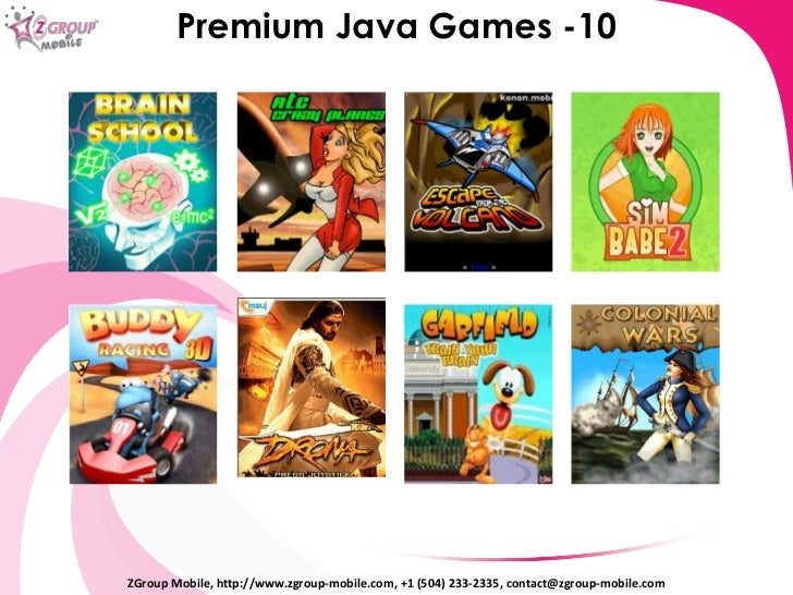 games for java phone