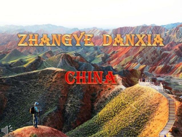 Zhangye danxia   china (v.m.)