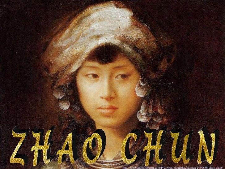 ZHAO CHUN http://www.authorstream.com/Presentation/michaelasanda-1190686-zhao-chun/