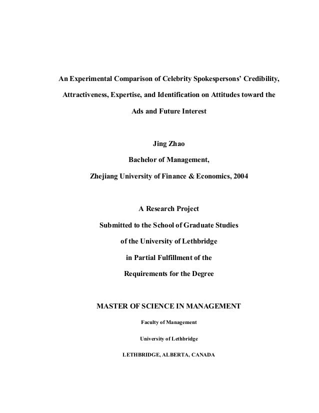 An Experimental Comparison of Celebrity Spokespersons' Credibility, Attractiveness, Expertise, and Identification on Attit...
